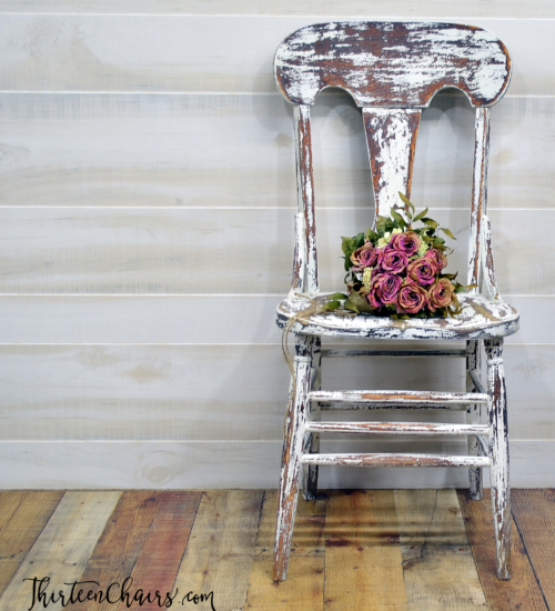 Chippy Milk Paint Chairs