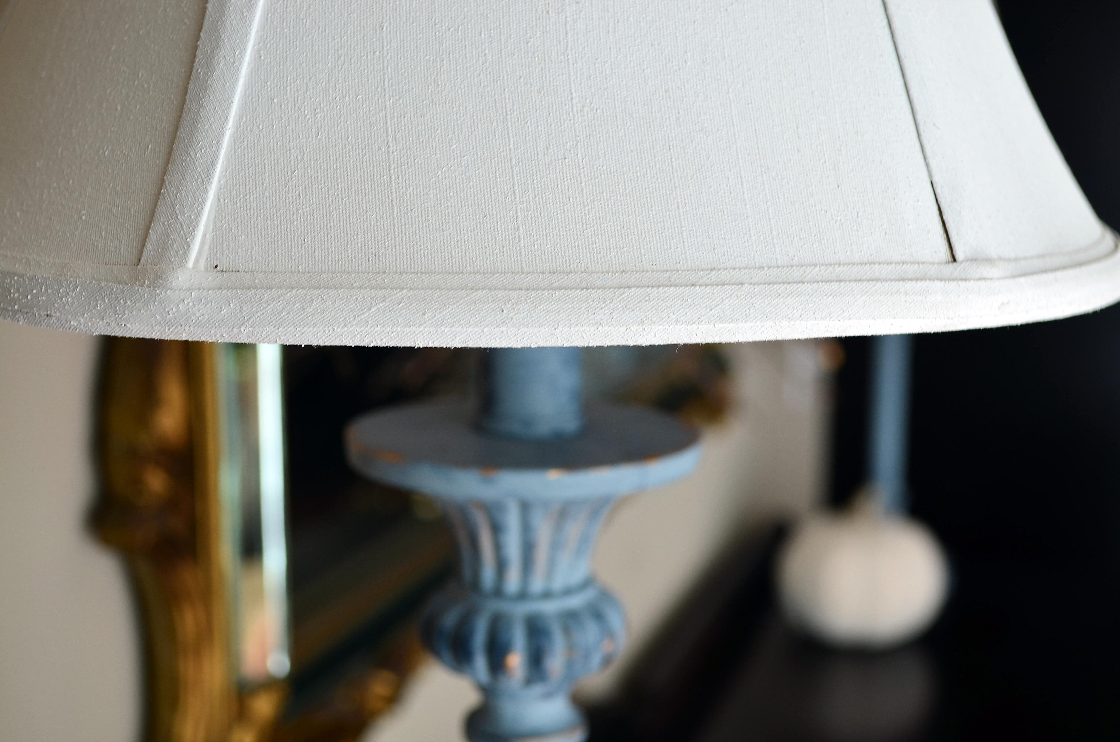 Choosing A Lampshade Chalkpaint Lampshade Thirteen Chairs